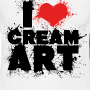 t shirt i love creamart splash homme